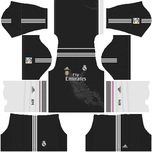 Kit Do Real Madrid Dream League Soccer 2018