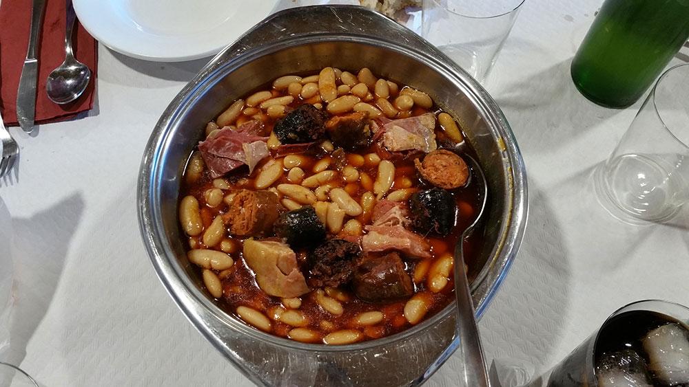 Casa Segundo Gijón, fabada