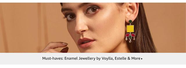 Women's Jewelry Voylla, Estelle, etc.