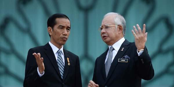 Presiden Jokowi dan Perdana Menteri Malaysia, Dato' Sri Mohd. Najib
