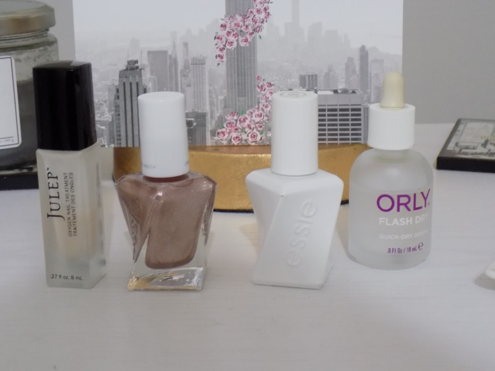 Manicure Monday: Essie Gel Couture Bridal Collection - Royally Pink