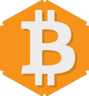 bitcoin hexagon icon
