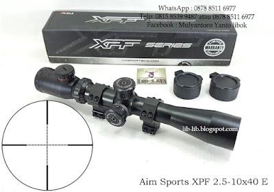 scope AIM SPORT SERIES 2.5-10X40E