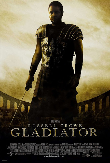 Gladiator 2000 movie poster
