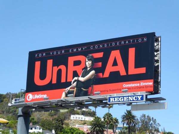 UnREAL Constance Zimmer 2016 Emmy billboard