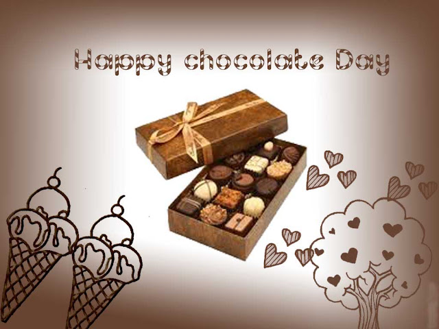 Happy Chocolate Day sms/messages