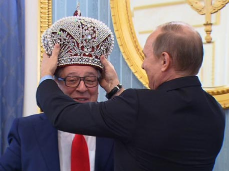 Путин передает власть