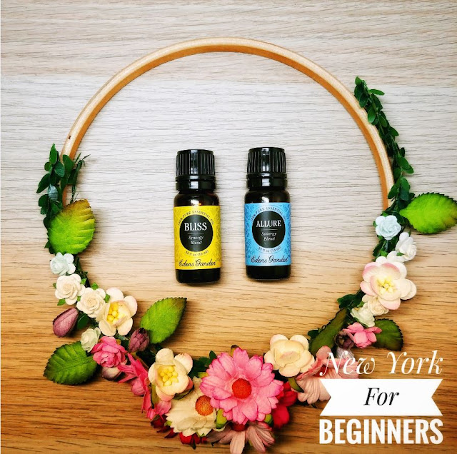 Two essential oil blends by eden's garden to use with the ceramic diffuser