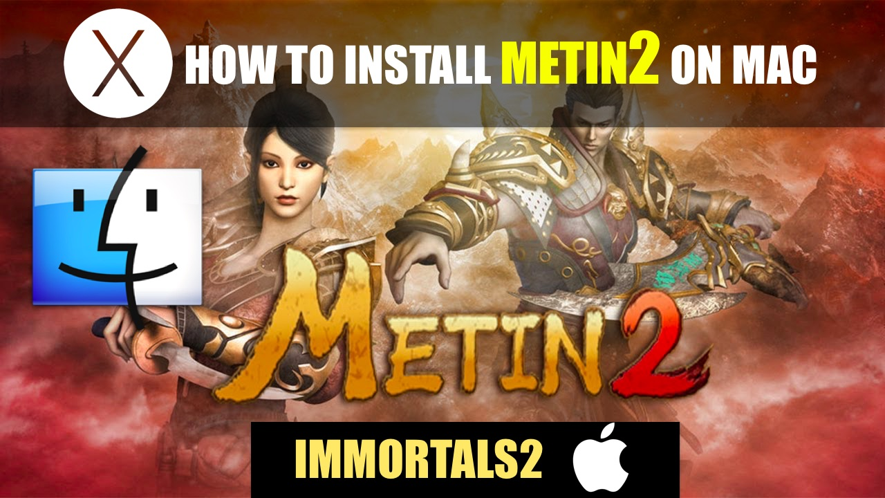 How to install Metin 2 on Mac (Immortals2 server)