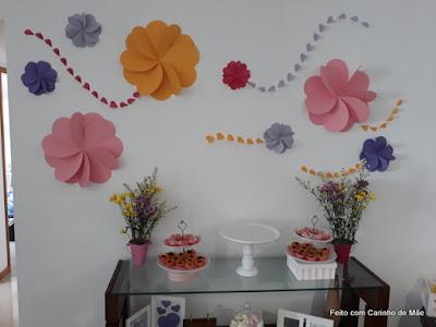 flores de cartolina