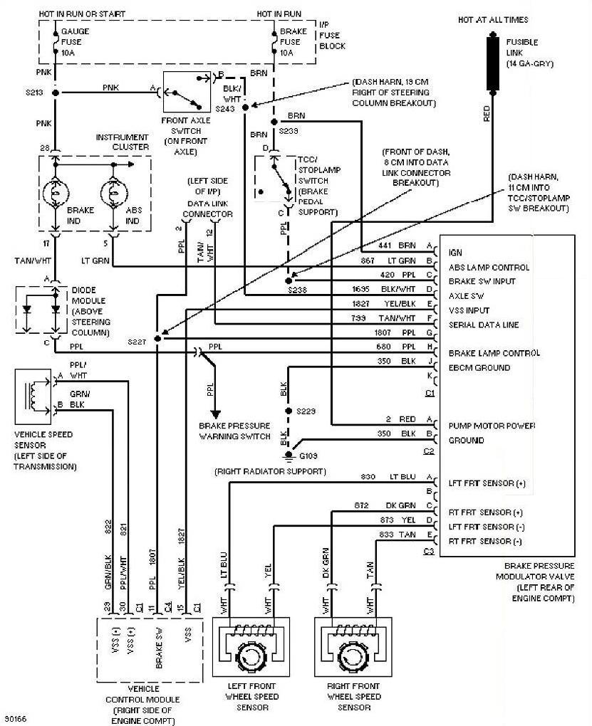 1995 chevy astro wiring diagram