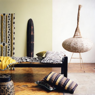 African Inspired Interiors by guest blogger Amy Mia Goldsmith