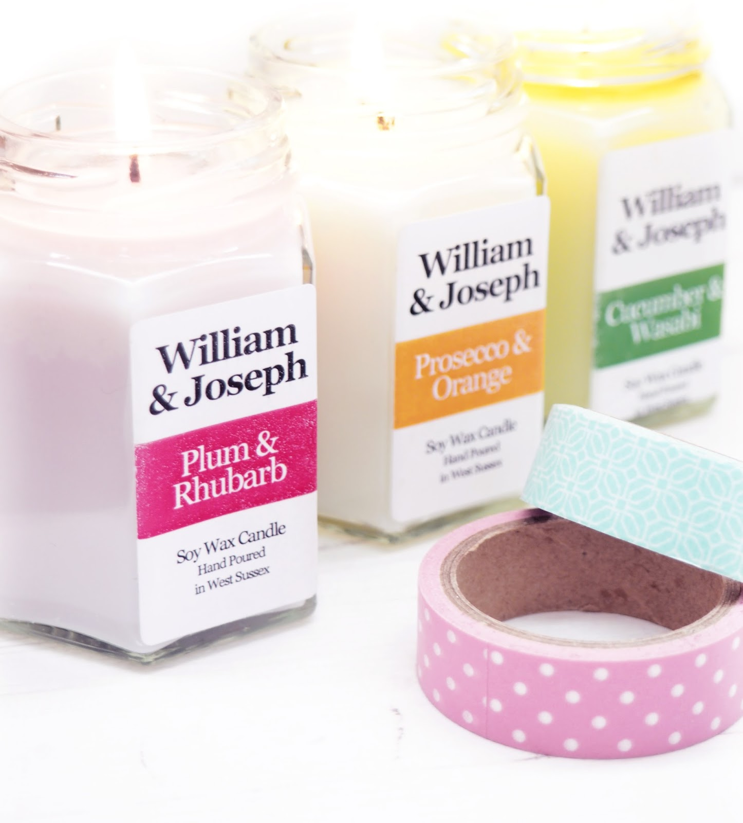 William & Joseph Spring Candle Trio Giveaway