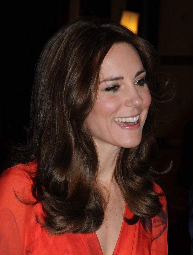 Kate Middleton goes glamorous in red for reception in Bhutan