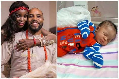Actor Kalu Ikeagwu & Wife Welcome First Child