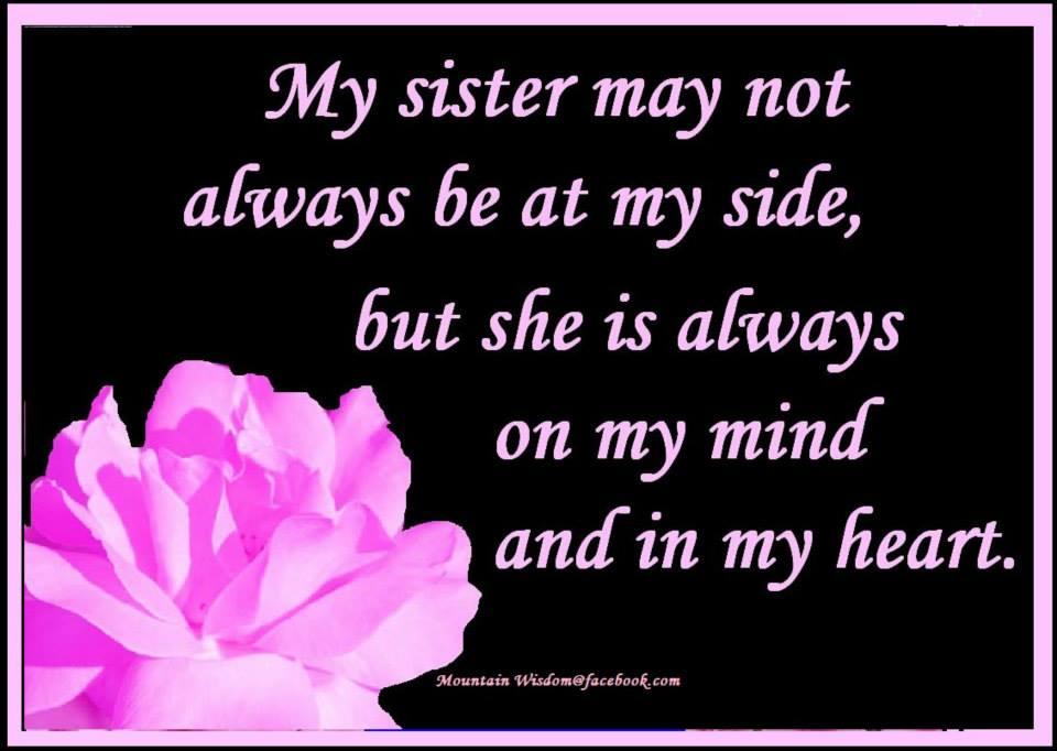 Daveswordsofwisdom.com: My Sister