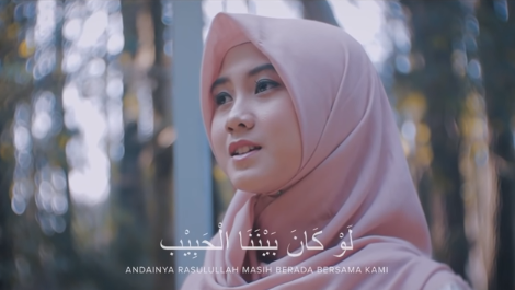 Law Kana Bainanal Habib by Alfina Nindiyani
