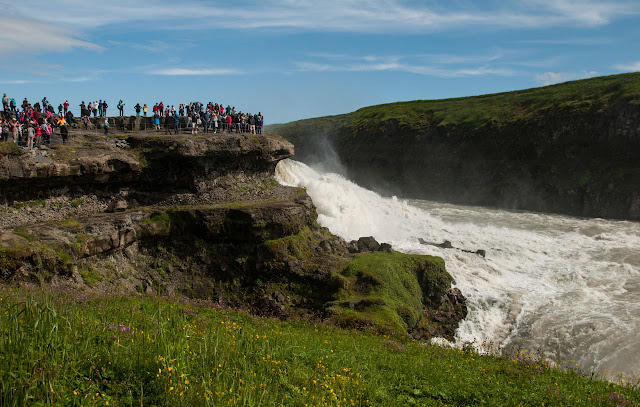 Islandia Gullfoss
