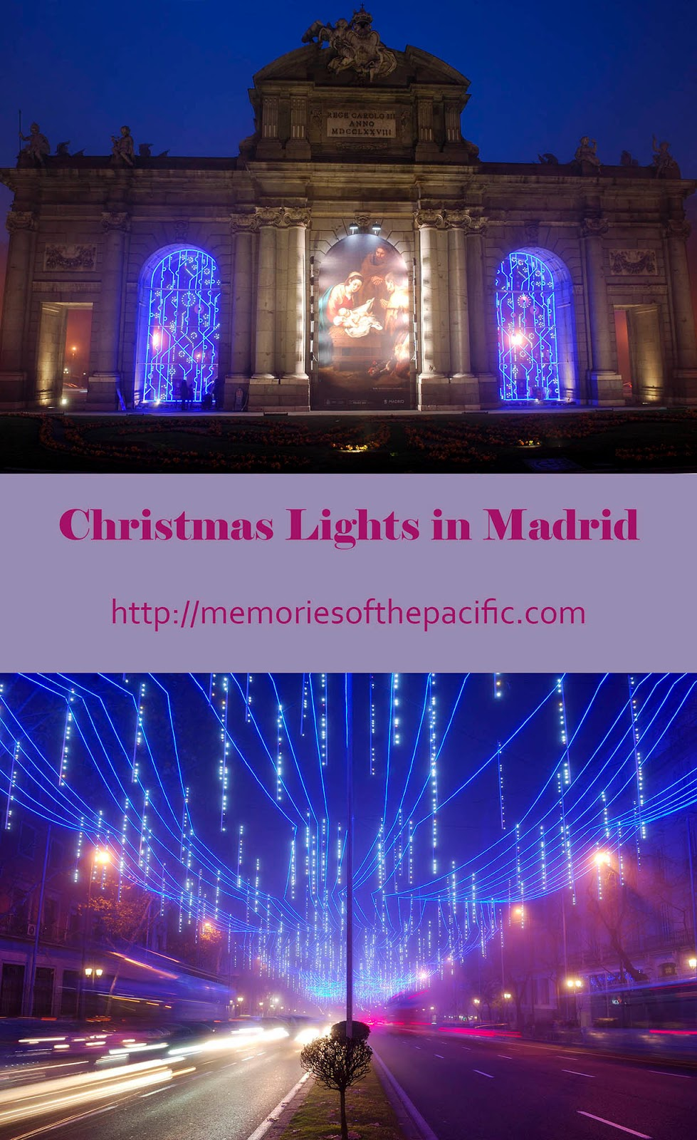 madrid christmas lights alcala