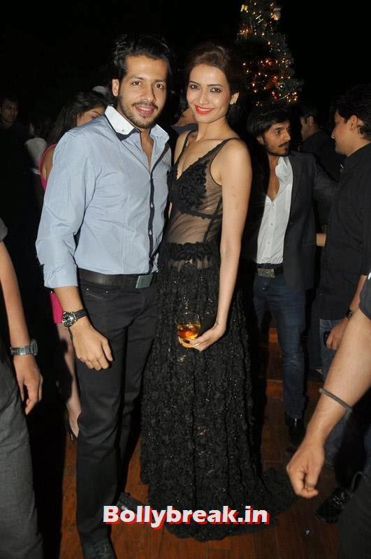 Nihar Pandya and Karishma Tanna, Karishma Tanna's Birthday Bash Pics