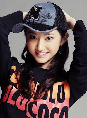 junges chinesisches Mädchen üppig