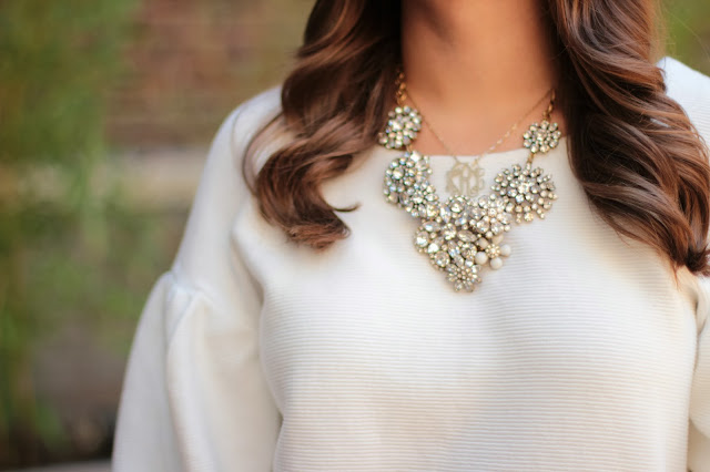 j. crew necklace, j. crew cluter necklace, j. crew statement necklace, lulu frost, j. crew lulu frost