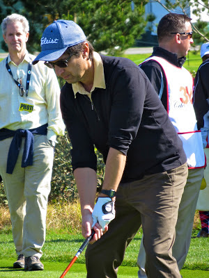 Actor and Comedian Ray Romano at the AT&T Pebble Beach National Pro-Am Golf Tournament