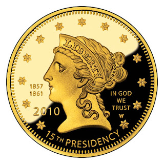 US Gold Coins James Buchanan's Liberty 2010 10 Dollars First Spouse Gold Coin