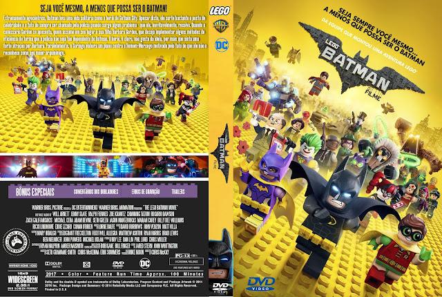 Capa DVD LEGO Batman O Filme [Exclusiva]