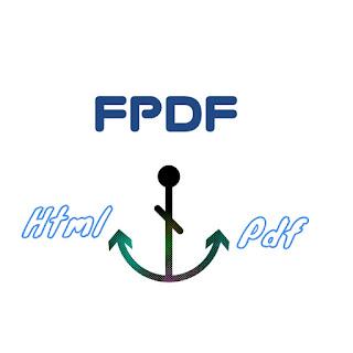 Fpdf Php Libarery