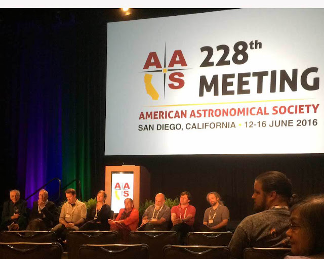 Pane Discussion at AAS Meeting in San Diefo