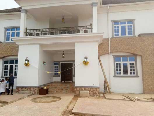 Photos from the opening of veteran actor, Kanayo O. Kanayo's multi-millionaire mansion