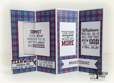 Our Daily Bread Designs Stamp Set: Teamwork, Paper Collection: Old Glory, Fun and Fancy Folds Card Kit: Lever Card, Custom Dies: Double Stitched Rectangles, Double Stitched Pennant Flags