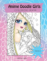Anime doodle Girls volume 2 on Amazon