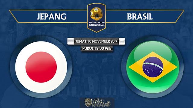 Prediksi Bola : Jepang Vs Brasil , Jumat 10 November 2017 Pukul 19.00 WIB