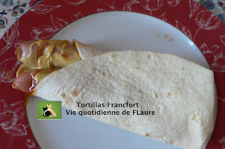 Vie quotidienne de FLaure: Tortillas Francfort