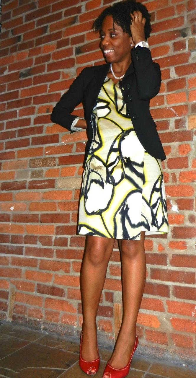 Ann Taylor Muse Print Dress