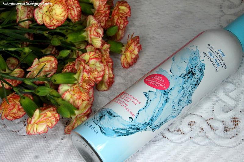 Caramance woda termalna do ciała z dodatkiem aloesu i wody różanej