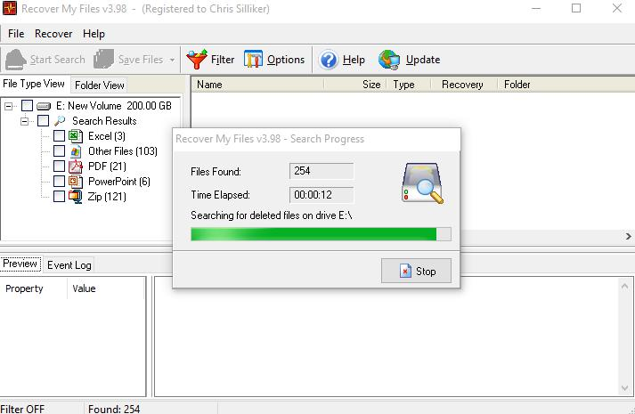 free recover my files v3.98 activation key