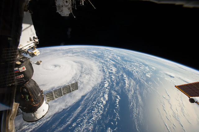 Super Typhoon Noru seen from the International Space Station