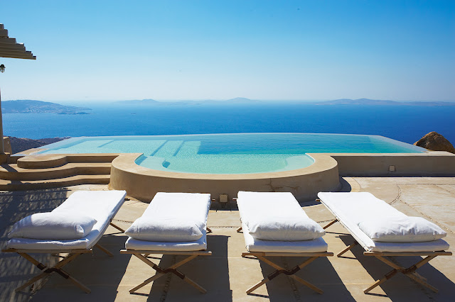 The Eagle's Nest luxury villa in Mykonos, Greece
