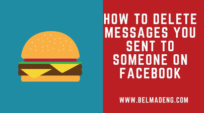 How to delete messages you sent to someone on Facebook