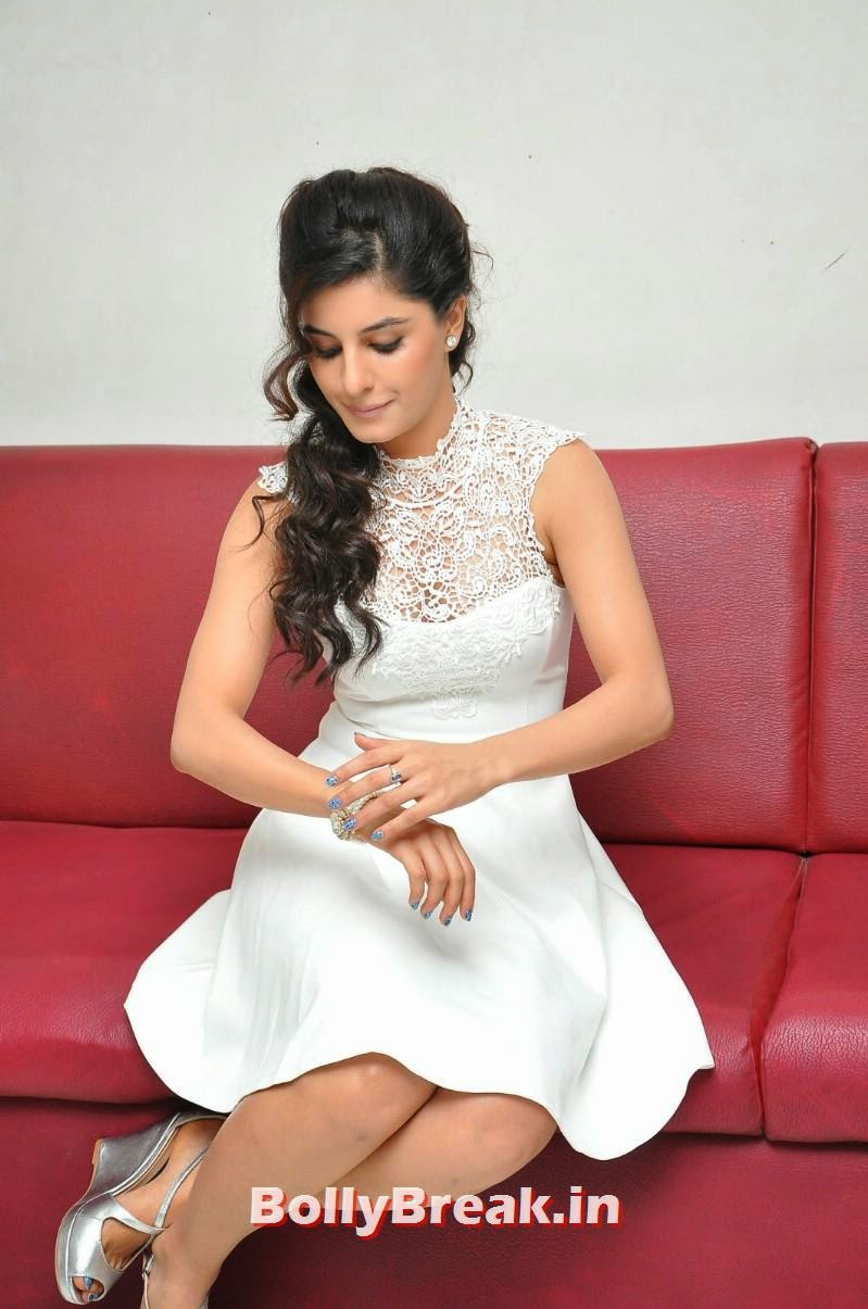 67, Isha Talwar Latest Photoshoot Pics in White Dress