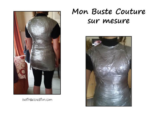 diy mon mannequin de couture sur mesure bettinael passion couture made in france. Black Bedroom Furniture Sets. Home Design Ideas