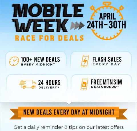 Jumia Mobile Week 2017 - Race For Best Mobile Deals In Nigeria
