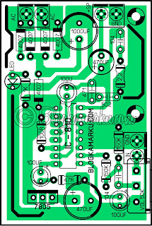 Membuat Power Mini Sederhana IC 810