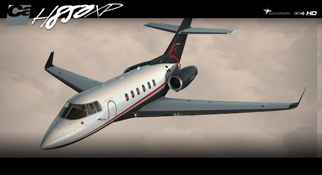 CARENADO HAWKER 850XP [FSX/P3D] - Ariel Creation - Flight Simulator