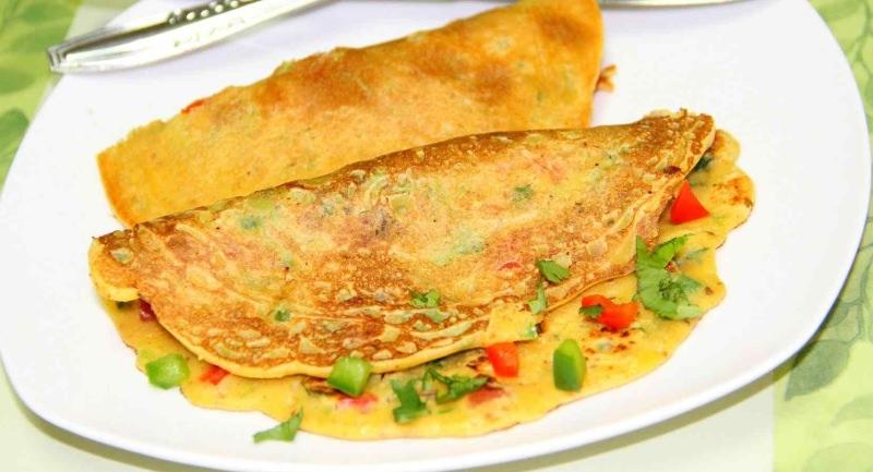 Omelete de grão