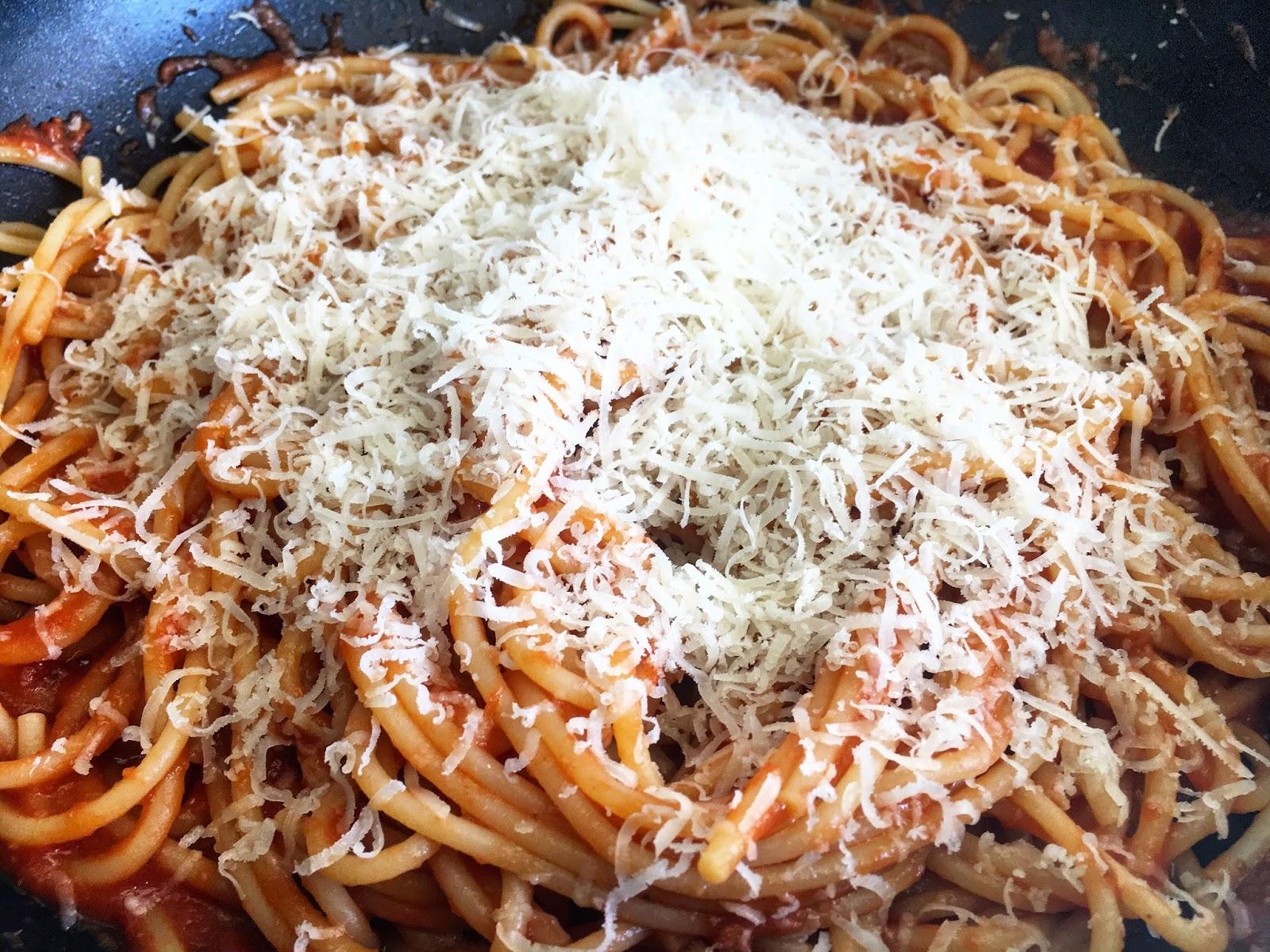 Spaghetti qui ne colle pas