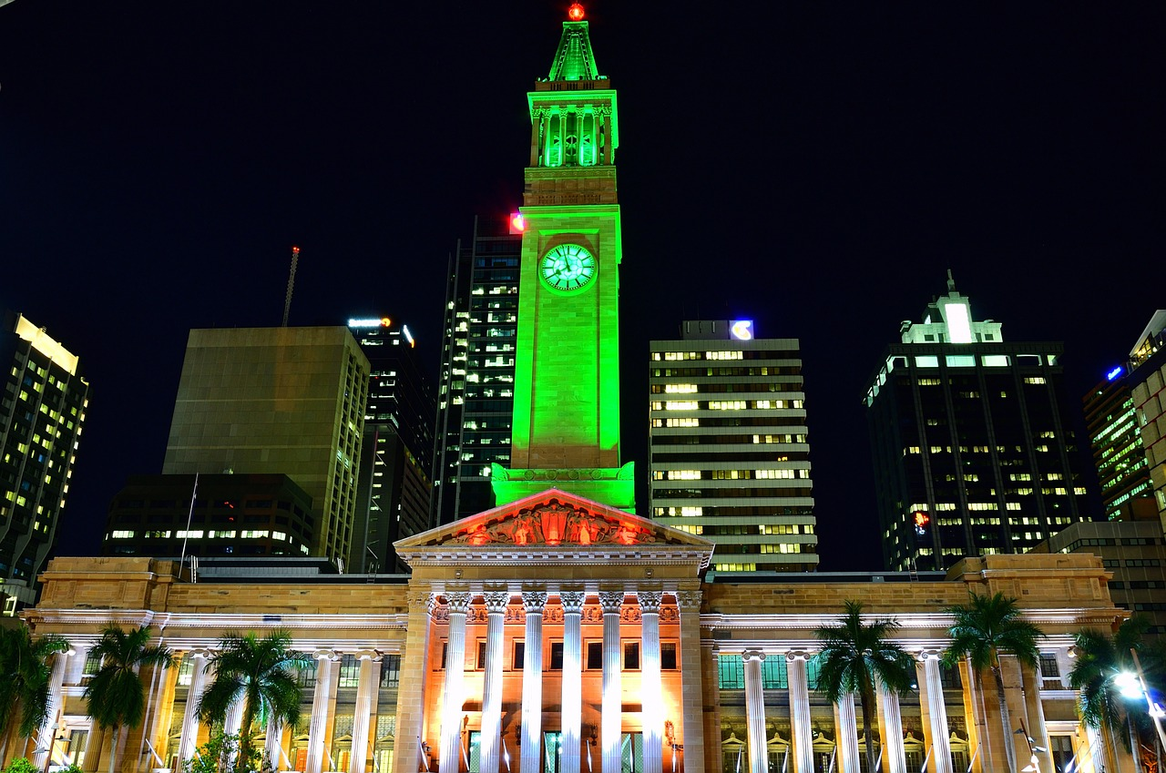 布里斯本-布里斯本景點-推薦-市政廳-旅遊-自由行-Brisbane-Attraction-City-Hall-Tourist-destination